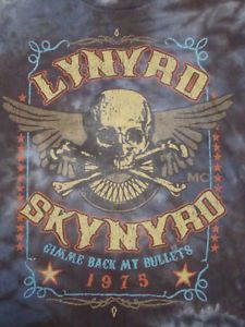 Lynyrd skynyrd gimme back my bullets concert tour 1975