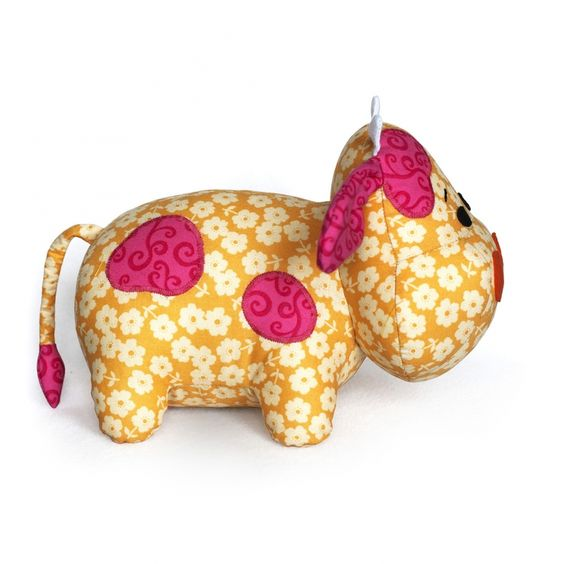 Cow Plush sewing by DIY Fluffies: