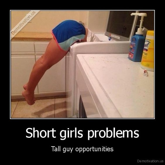 Short girl dating tall guy problems