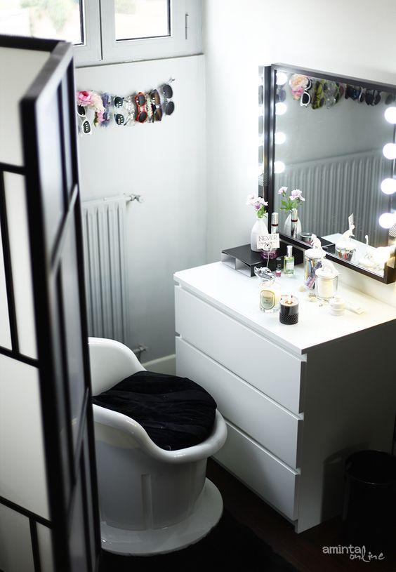 Folding Divider Malm Dresser Mirror Ikea Musik Lights