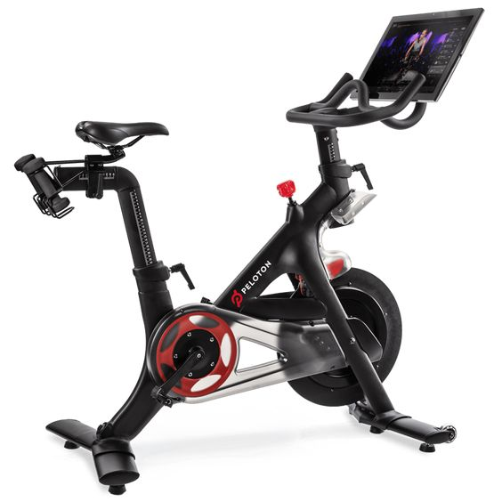 Peloton Indoor Exercise Bike With Online Streaming Classes Best Exercise Bike Biking Workout Indoor Cycling Bike