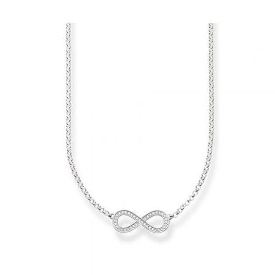 "Thomas Sabo Silver ""Infinity"" Necklace"