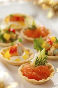 Buffet on pinterest for Canape aperitif marmiton