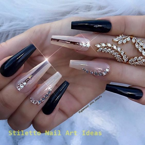 82 Creative Acrylic Coffin Nails For Winter Stiletto Nail Art Stiletto Nails Designs Coffin Nails Designs