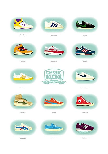 4 de 9. Classic Kicks, via Flickr.