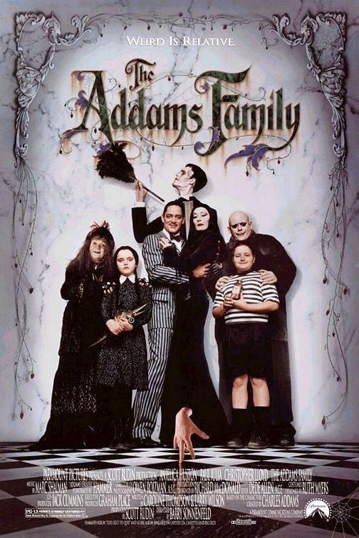 Los Locos Addams 1991 Filmaffinity La Familia Addams Peliculas Familiares Peliculas De Halloween