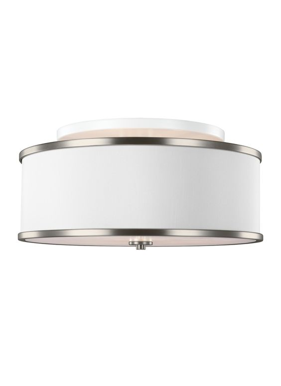 Lennon 3 Light Semi-Flush Mount