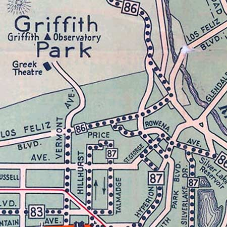 Big Map Blog just posted a 1934 map of electric car and bus routes in L.A.