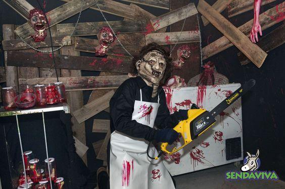 Cine de las Pesadillas. Sendaviva se transforma en Halloween.