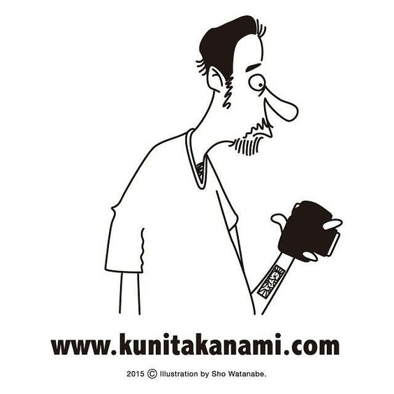 kuni takanami. illustration by sho watanabe.  #kunitakanami #photographer #showatanabe #cloveru #ambassador