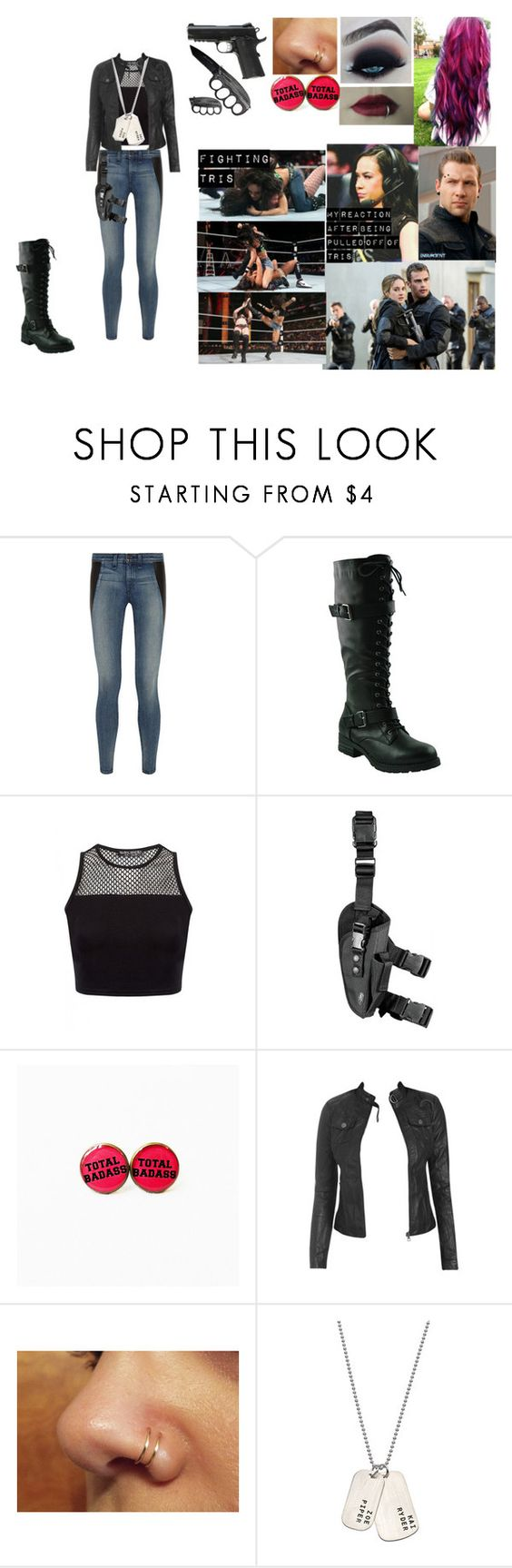 """looking for tris and four with Eric"" by ashngods on Polyvore featuring rag & bone, 8PM, Wet Seal and Anna Bee"