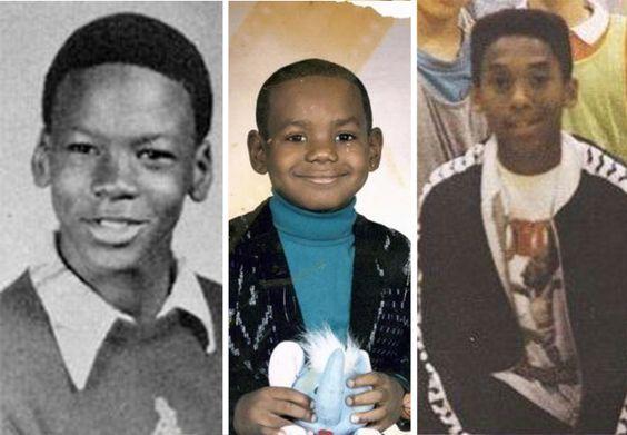 Jugadores de la NBA Cuando Eran Niños