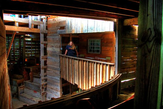 Alexis Lienhart, Minister's Tree House, Crossville, TN by Chuck Sutherland, via Flickr