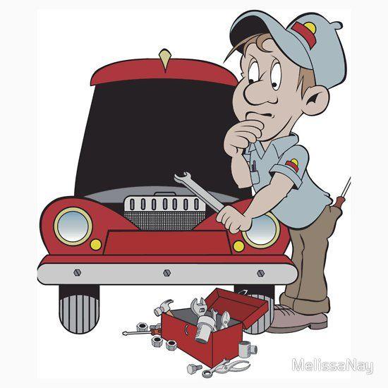 Confused Mechanic Taller Automotriz Taller Mecanico Automotriz