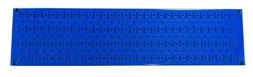 Wall Control Narrow Pegboard Rack 8in x 32in Blue Metal Pegboard Runner Tool Board by Wall Control, http://www.wallcontrol.com/8in-x-32in-horizontal-blue-metal-pegboard-tool-board-panel/