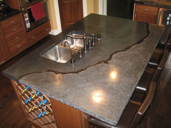 Charming Concrete Countertops Exposed Aggregate   Exposed Aggregate In Spray Applied  GFRC   Bsquared   Pinterest   Exposed Aggregate, Concrete Countertops And  ...