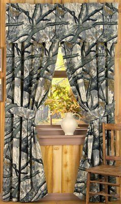 Mossy oak, Mossy oak camo and Window curtains on Pinterest