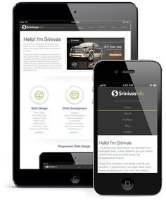 Responsive Web Design is a design technique that thoroughly focuses on a user's environment and behavior based on the orientation and size of his screen as well as the platform.