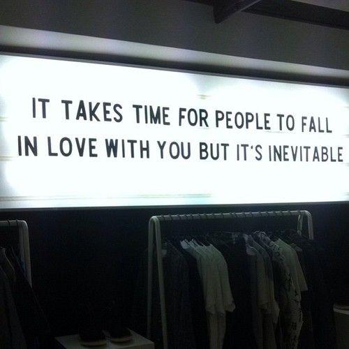 it's inevitable