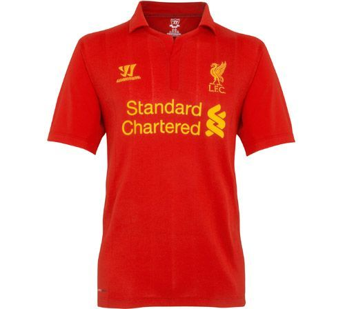 Liverpool Football Club is delighted to reveal its brand new home kit for the 2012-13 Barclays Premier League season. #lfckit