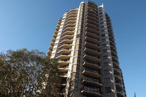 Fiori Apartments Sydney Just 4 minutes' walk from Parramatta Railway Station, this property features an indoor lap pool, a hot tub and a fitness centre. All modern self-contained apartments offer a private balcony.