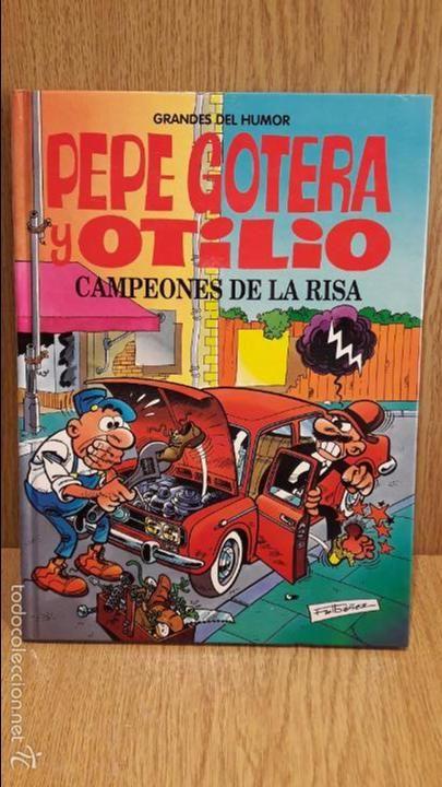 PEPE GOTERA Y OTILIO / GRANDES DEL HUMOR - 03. EL PERIÓDICO - 1996 / TAPA DURA.