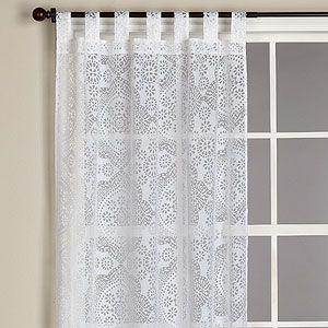 Cute sheer curtains