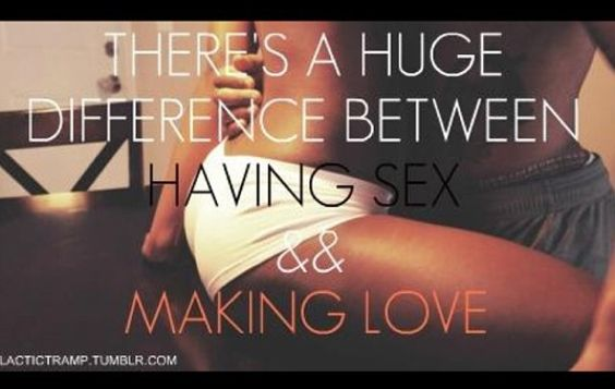 Difference between making love and having sex Nude Photos 20