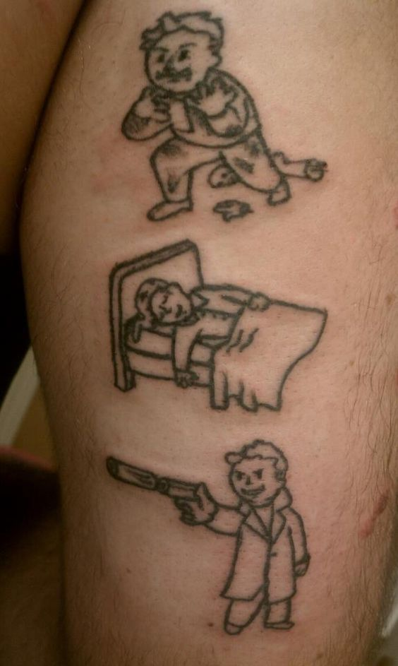 eat sleep race tattoo - photo #27