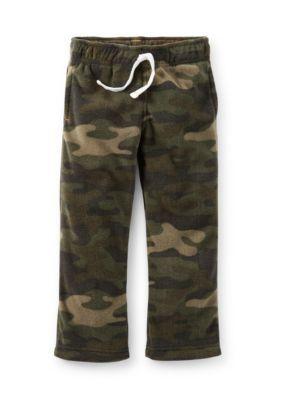 Carters  Camo Fleece Pants