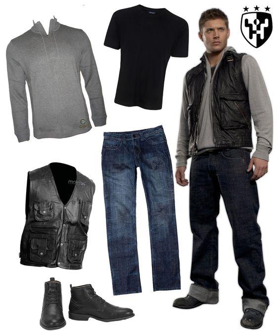 Inspiração Supernatural - Look 1 Dean Winchester
