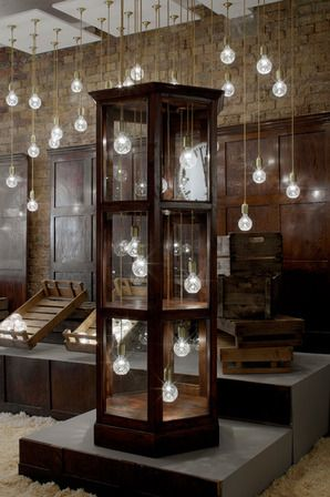 lee broom, crystal bulb shop, londres
