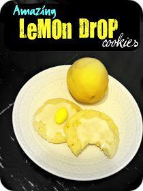 Freshly Completed: Amazing Lemon Drop Cookies