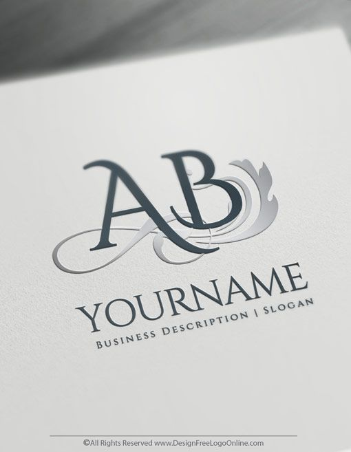 Online Letter Logo Design Maker