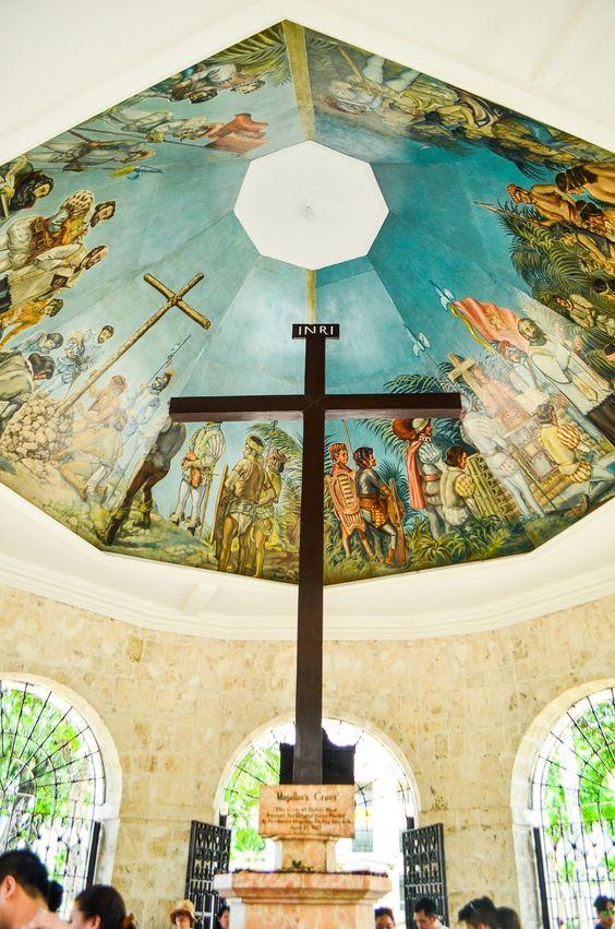 make a wish at sto nino basilica in cebu city crosses home and