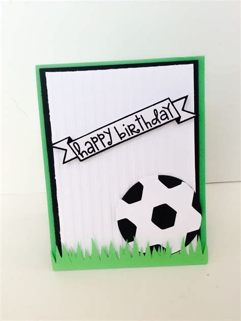 Image Result For Soccer Birthday Card Birthday Cards For Boys Birthday Cards For Men Hello Cards