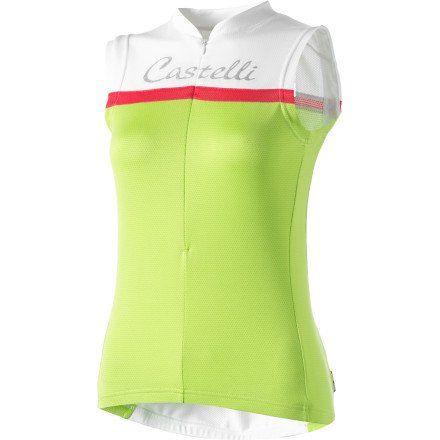 Castelli Promessa Jersey - Sleeveless - Women's - http://ridingjerseys.com/castelli-promessa-jersey-sleeveless-womens/