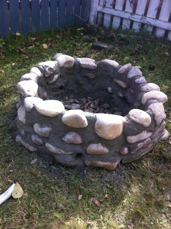 Pinterest the world s catalog of ideas for How to build a fire ring with rocks
