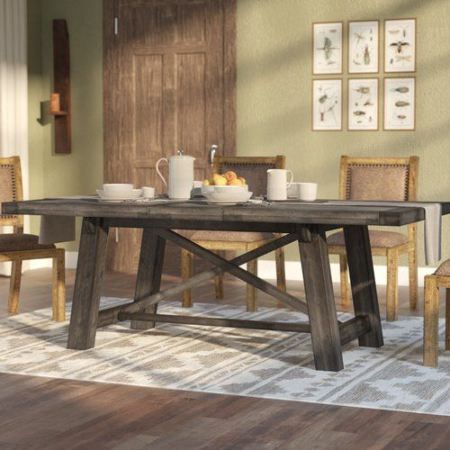 Colborne Extendable Dining Table Dining Table In Kitchen Dining