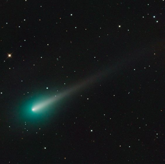 Adam Block took this image of comet ISON using a SBIG STX16803 CCD Camera with a 32-inch Schulman Telescope Schulman Telescope atop Mount Lemmon from the University of Arizona%u2019s SkyCenter on the morning of Oct. 8.