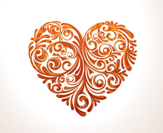 heart with roots and wings Body Art Pinterest Graphics - free invitation clipart