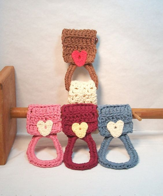 Free Crochet Patterns For Kitchen Towel Holders : Pot Scrubbers. Emoji, brown, scour pad, scrubbie, durable ...