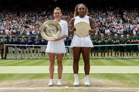 Wimbledon 2019  Individual femenino (56') Simona Halep venció a Serena Williams por 6-2, 6-2