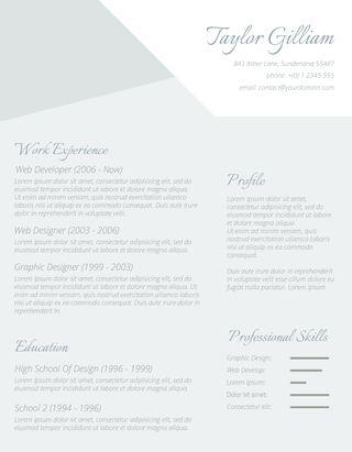 desain contoh cv untuk melamar kerja