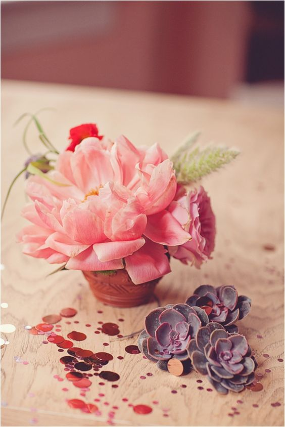 Cinco De Mayo Florals / Succulents / Confetti
