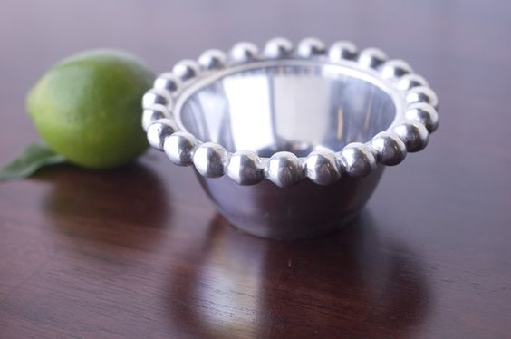 Old Town Imports Aluminum Serveware Beaded Bowl - Mini {PRESALE ONLY}. $5.49 regularly $9.99