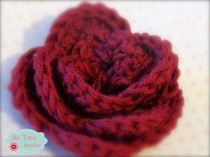 Tutorial para realizar una flor de crochet o ganchillo. Paso a paso en la web