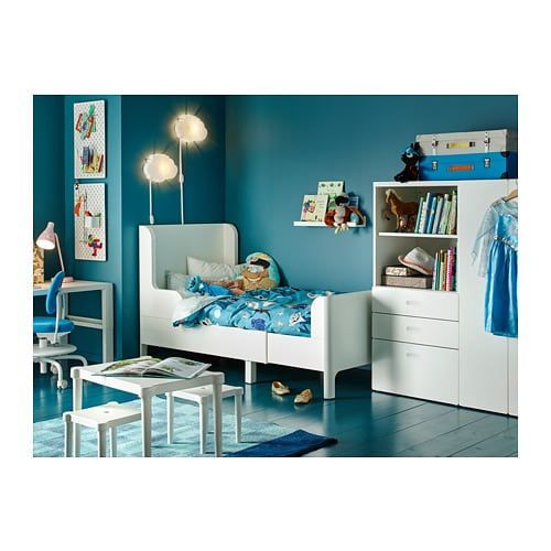 Busunge Extendable Bed White Chambre Indienne Literie Blanche