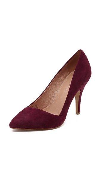 Madewell Замшевые туфли на каблуках Mira