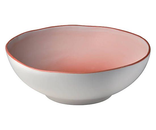 Insalatiera in ceramica terra - d 17 cm